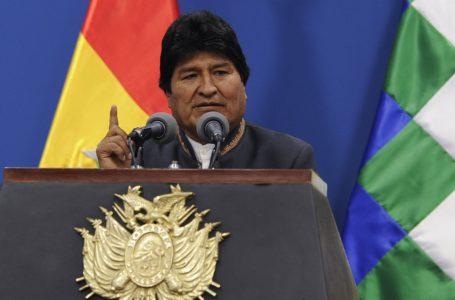 Evo Morales viaja a México en calidad de asilado político