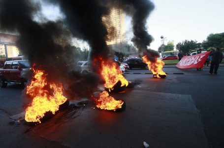 Santiago amaneció con barricadas