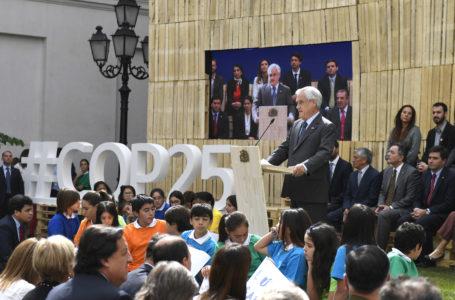 Sebastián Piñera no irá a la COP25 en Madrid