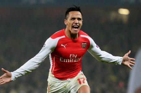 Alexis Sánchez fue el mejor jugador de Arsenal de la década