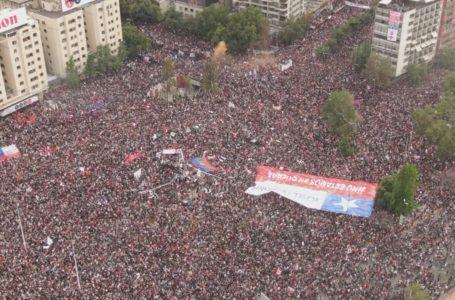 Carabineros estima que en diciembre han habido 142 mil asistentes a manifestaciones