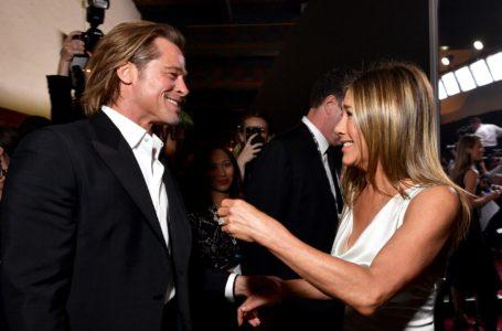 SAG Awards 2020: el encuentro de Brad Pitt y Jennifer Aniston