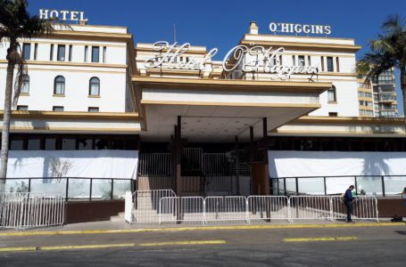 Concejales de Viña del Mar preocupados por suspensión indefinida del Hotel O'Higgins
