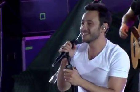 «Dejénlo cantar»: la furia del público en la presentación de Luciano Pereyra en Viña