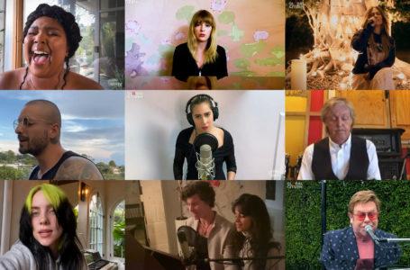 One World: Together at Home, artistas de todo el mundo reunidos contra el coronavirus