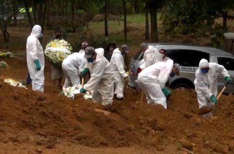 Brasil superó los 40.000 muertos por el nuevo coronavirus y registra más de 800.000 contagios