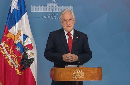 Piñera concreta extensión de Estado de Excepción por 3 meses ante pandemia del Covid-19