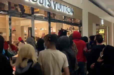 Saqueos en las principales tiendas en Manhattan y en varias ciudades de Estados Unidos