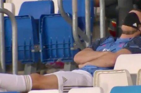 La siesta de Bale en el Madrid